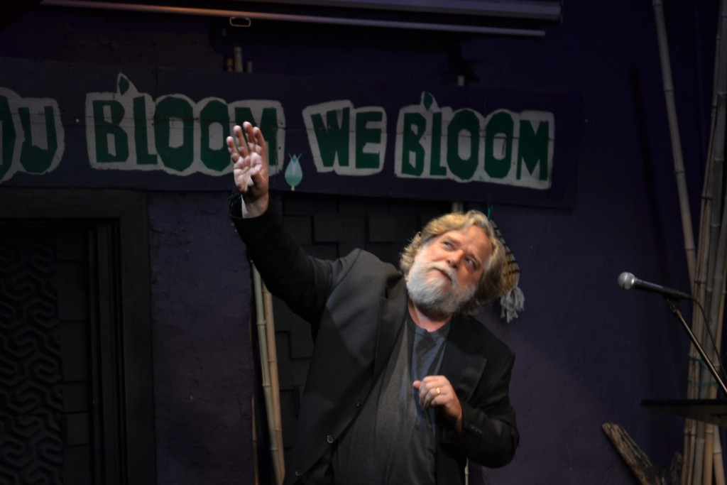 Song of Myself: the WHITMAN Project. Photo courtesy of The Performing Knowledge Project